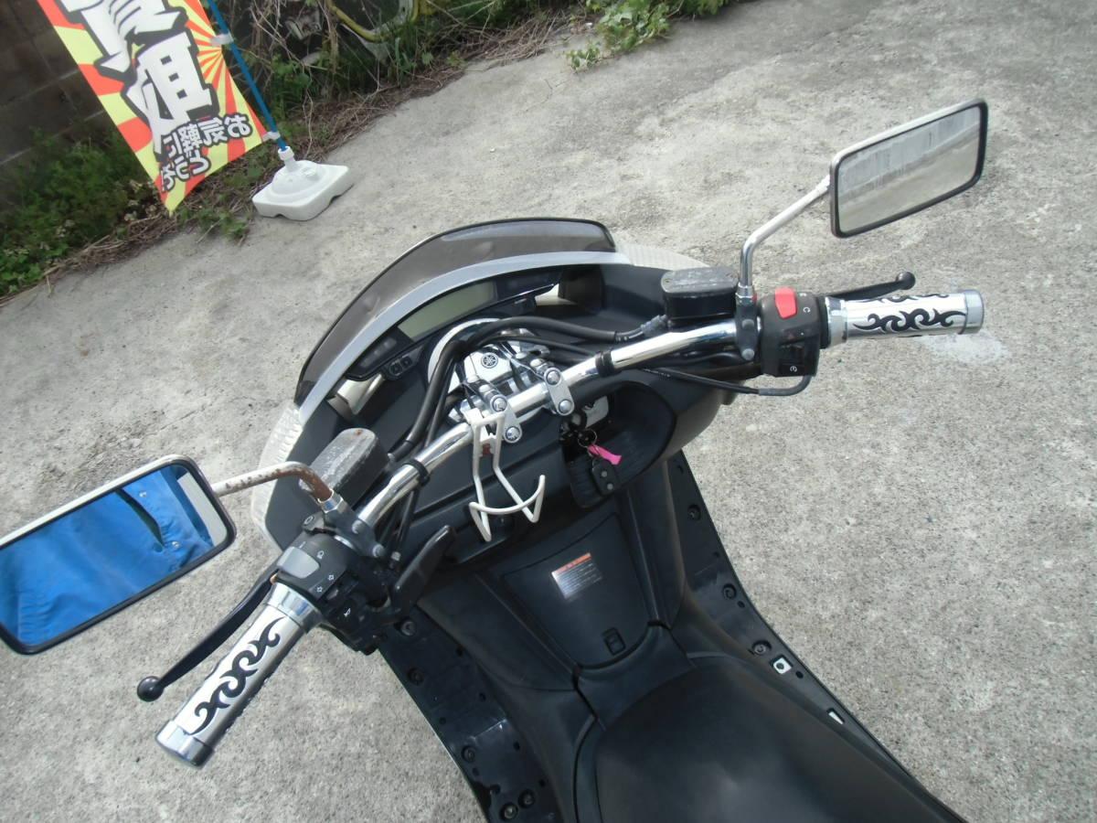 マグザム(Maxam)(SG17J)② FI車で扱いやすい! メーター距離のわりには好調! 福島発!_画像10