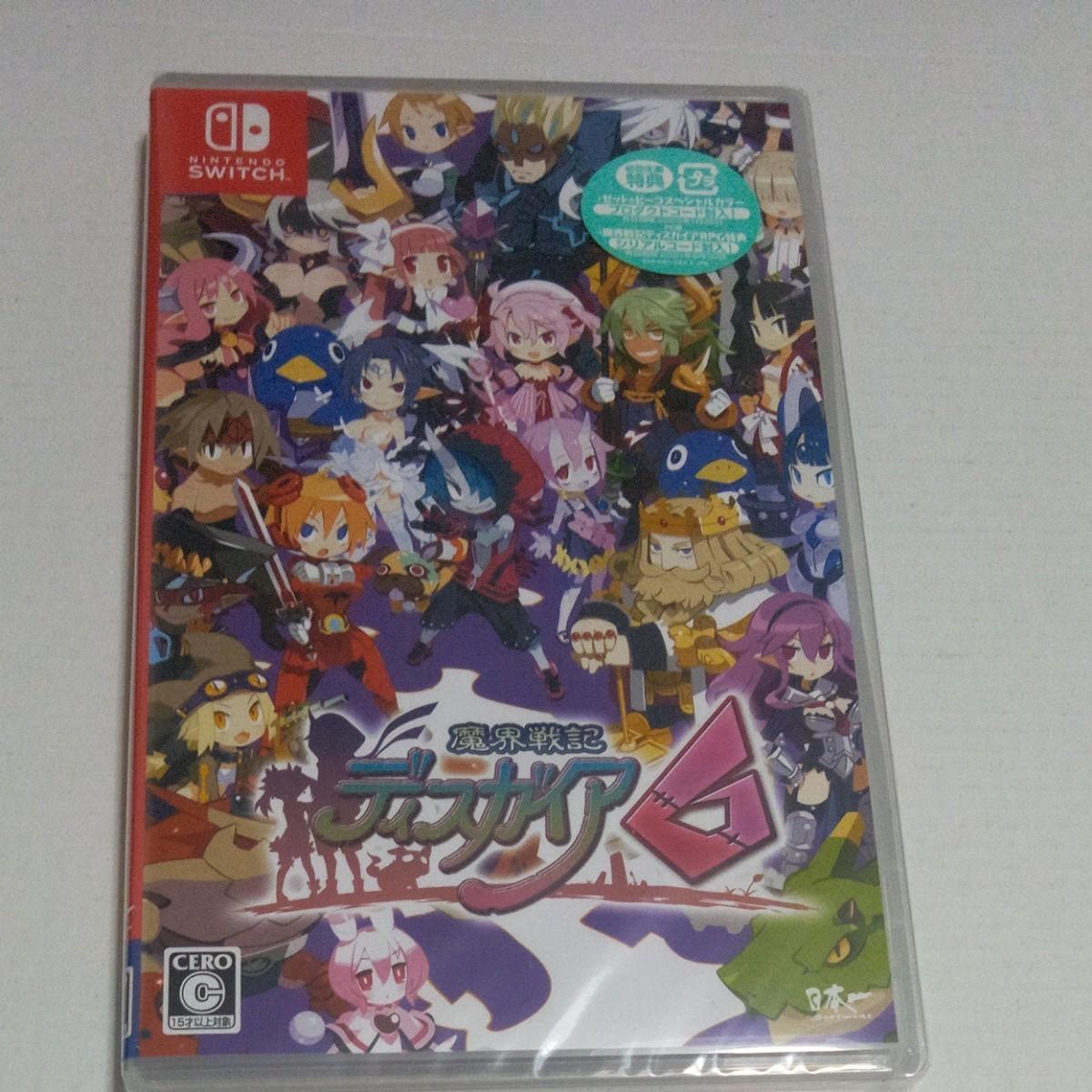 【Switch】 魔界戦記ディスガイア6 [通常版] Nintendo Switch Switch 任天堂