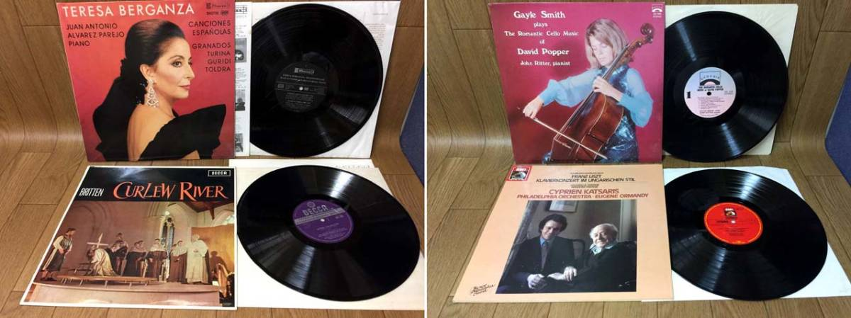 ♪輸入盤 LP クラシック 「76タイトル」 ピアノ 管弦楽 声楽など まとめ♪_画像8