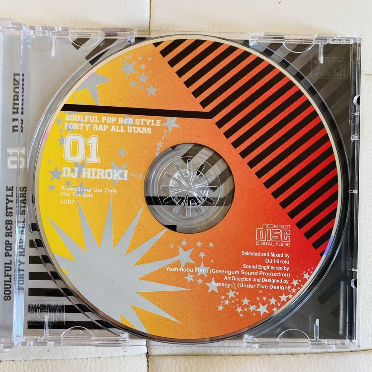 送料無料 / DJ HIROKI / SOULFUL POP R&B STYLE FORTY RAP ALL STARS / mixcd komori ddt swing dask hasebe