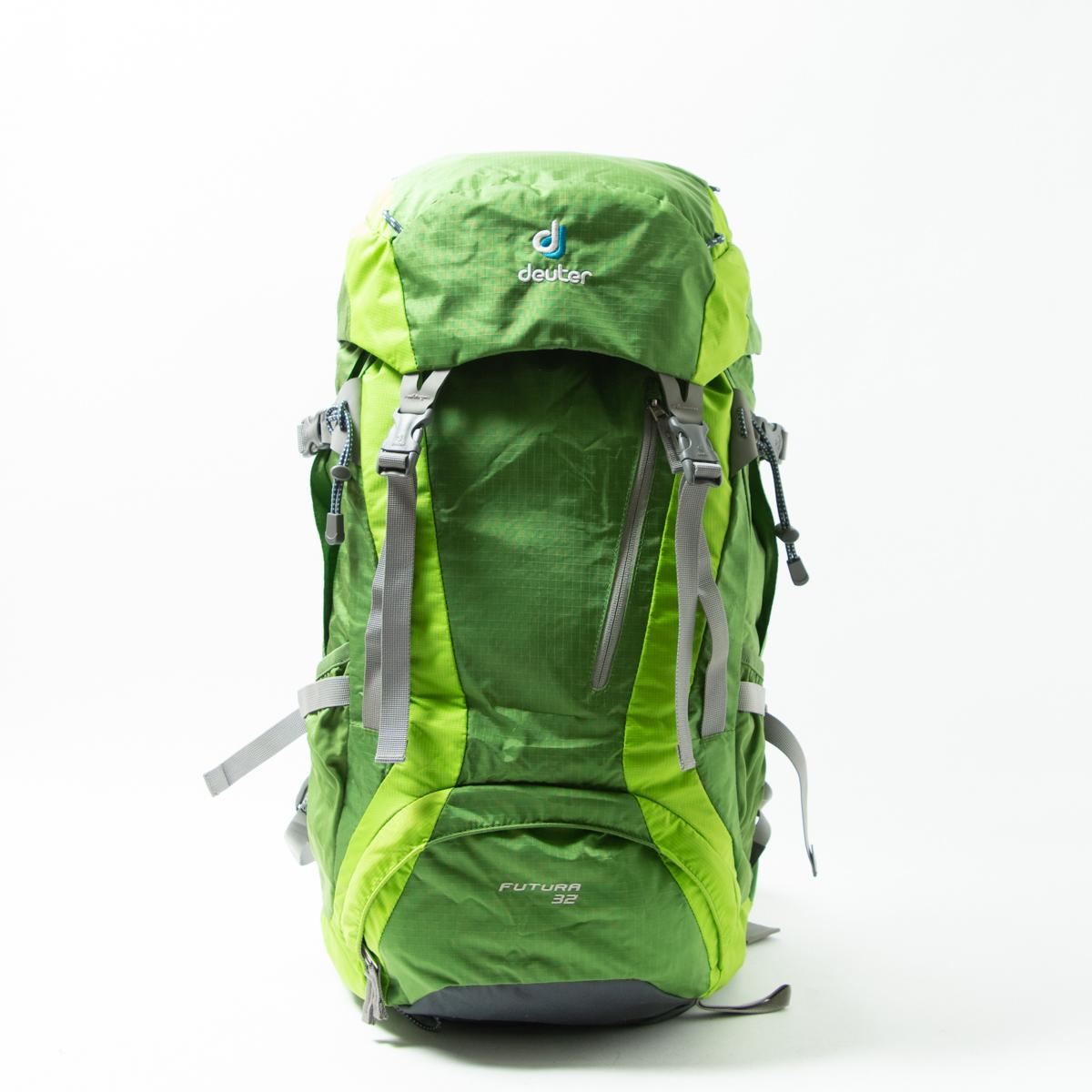 【1円スタート】deuter Futura ドイター フューチュラ 30L トレッキング バックパック リュック 登山 アウトドア 鞄 D3400718 グリーン 緑