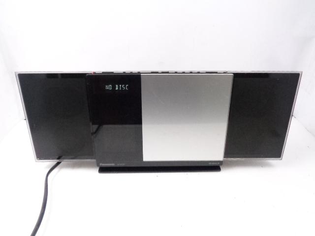 Panasonic コンパクトステレオシステム SC-HC37 中古動作品_画像1