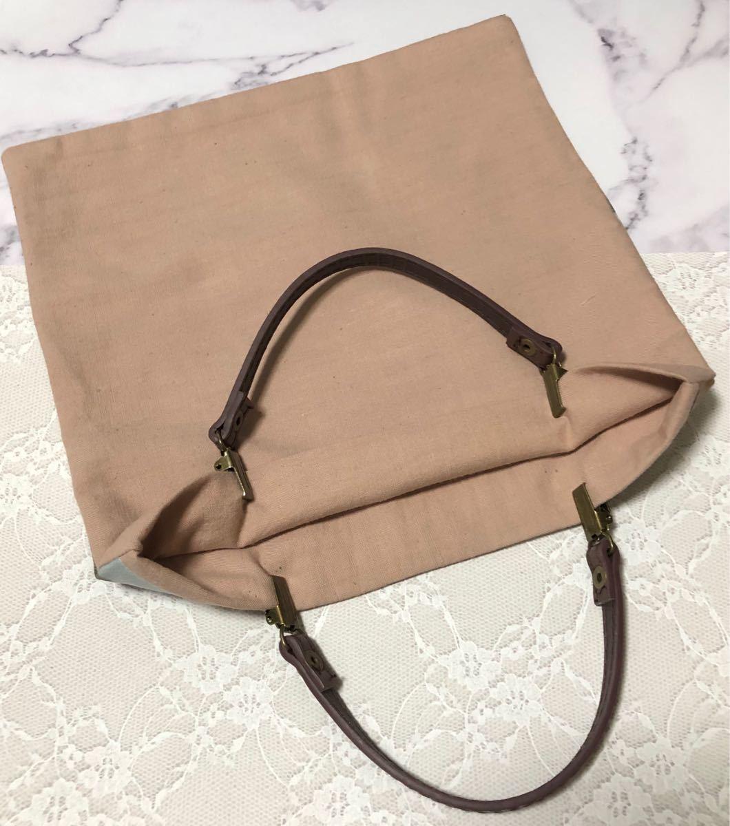 ハンドメイド ミニバッグ バッグインバッグ くまさん テディベア サブバッグ