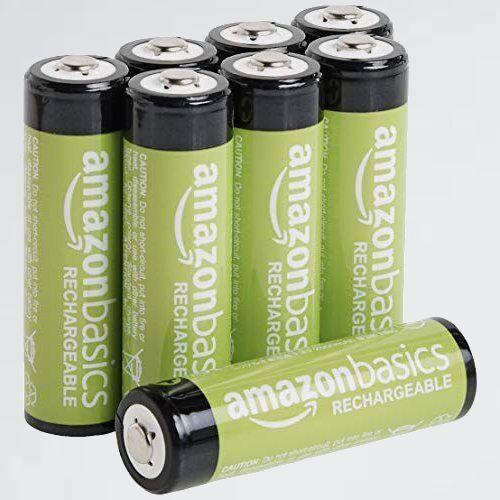 新品 未使用 充電池 ベ-シック M-4G 単3形8個セット (最小容量1900mAh、約1000回使用可能) 充電式ニッケル水素電池_画像1