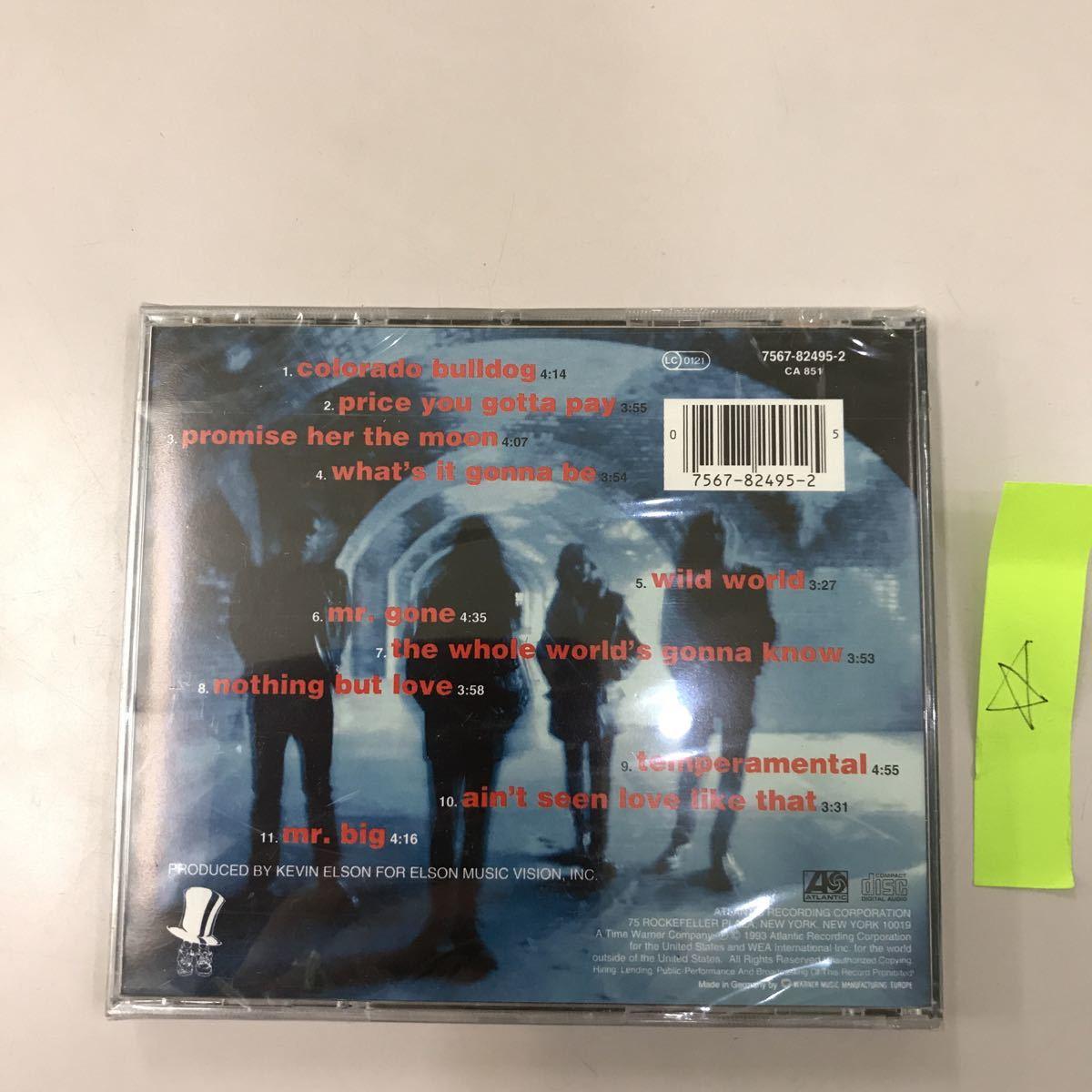 CD 輸入盤未開封【洋楽】長期保存品 MR.BIG