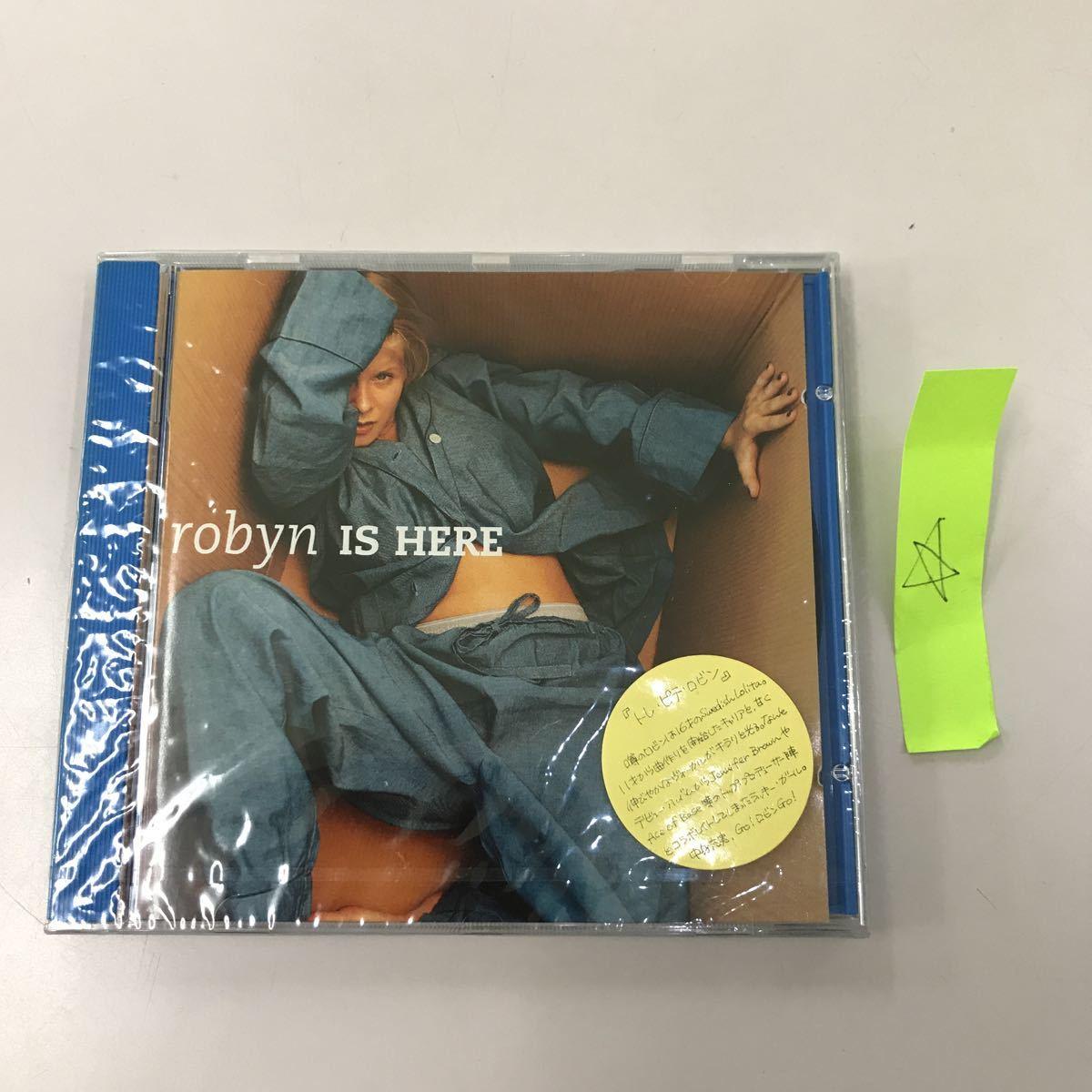 CD 輸入盤未開封【洋楽】長期保存品 robyn IS HARE