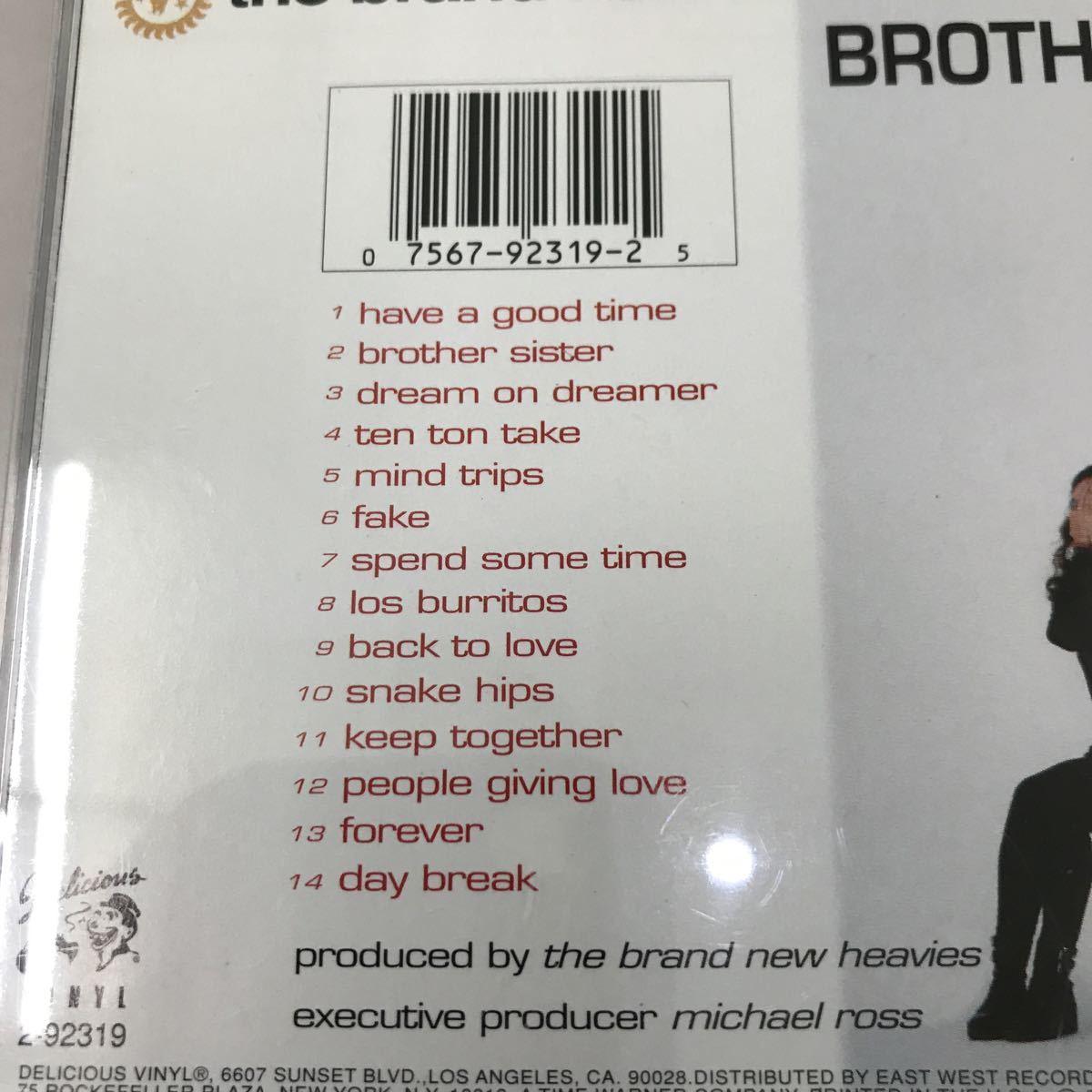 CD 輸入盤 中古【洋楽】長期保存品 the brand new heavies