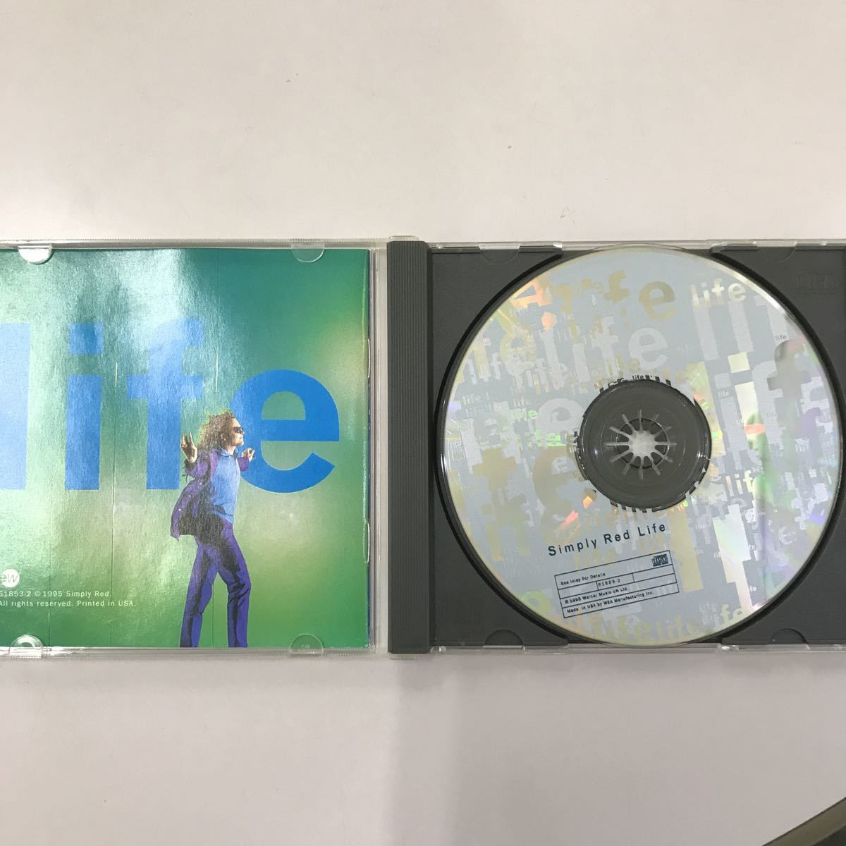 CD 輸入盤 中古【洋楽】長期保存品 simply red
