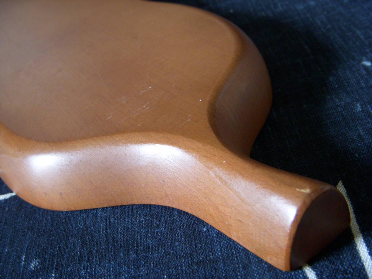 木製 葉形 茶盆 煎茶道具_画像7