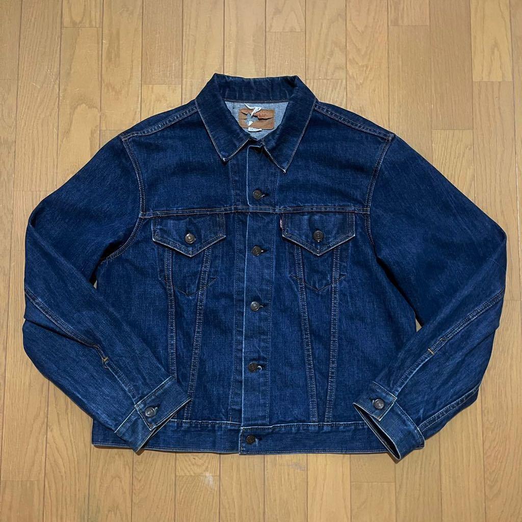 美品 濃紺 60s ビンテージ リーバイス LEVI'S 70505 BIGE ビッグE 4th デニム ジャケット