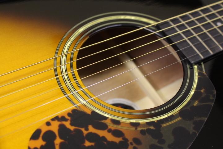 新品・在庫限り Morris(モーリス) / F-12Ⅱ TS アコースティックギター ※全国送料無料(一部地域は除きます。)_画像5