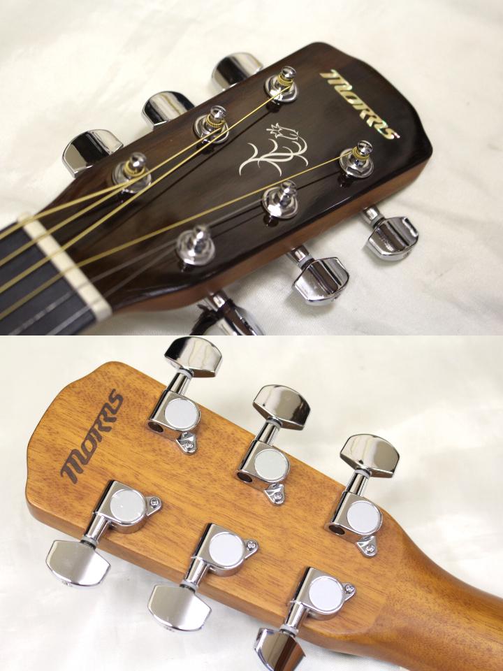 新品・在庫限り Morris(モーリス) / F-12Ⅱ TS アコースティックギター ※全国送料無料(一部地域は除きます。)_画像3
