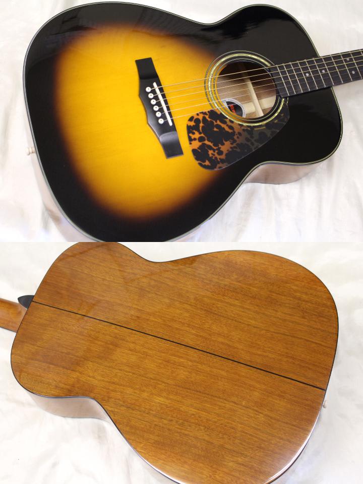 新品・在庫限り Morris(モーリス) / F-12Ⅱ TS アコースティックギター ※全国送料無料(一部地域は除きます。)_画像2