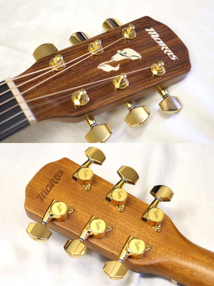 店頭展示品特価 Morris(モーリス) / M-51 NAT アコースティックギター おまけ付き!! ※全国送料無料(一部地域は除きます。)_画像3