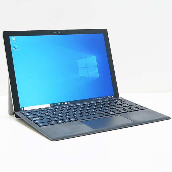 【1円スタート】ジャンク品 ◇ Microsoft Surface Pro 4(1724)【Core i5 6300U/4GB/SSD/Win10 Pro-64bit/WLAN(ac)/タイプカバー付/AC欠