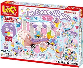 LaQ スイートコレクション アイスクリームワゴン_画像1
