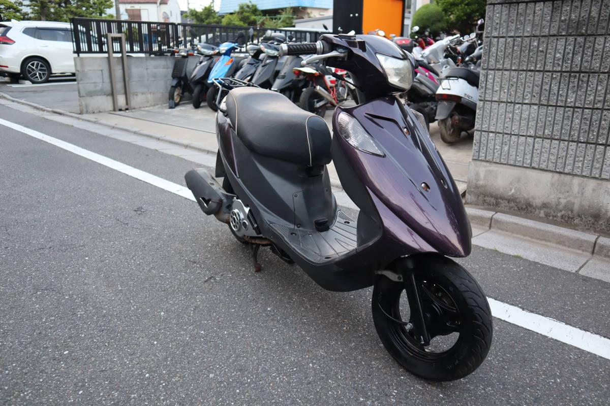 「美車 リアタイヤ新品 低走行 スズキ アドレスV125 東京板橋区 低燃費」の画像1