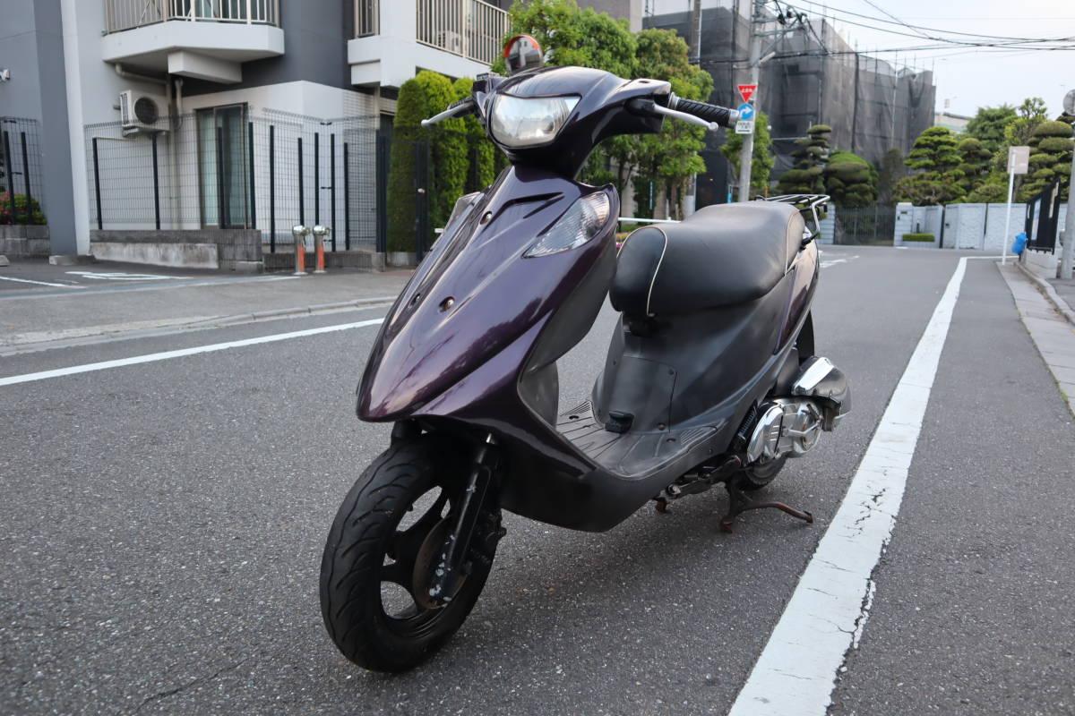「美車 リアタイヤ新品 低走行 スズキ アドレスV125 東京板橋区 低燃費」の画像2