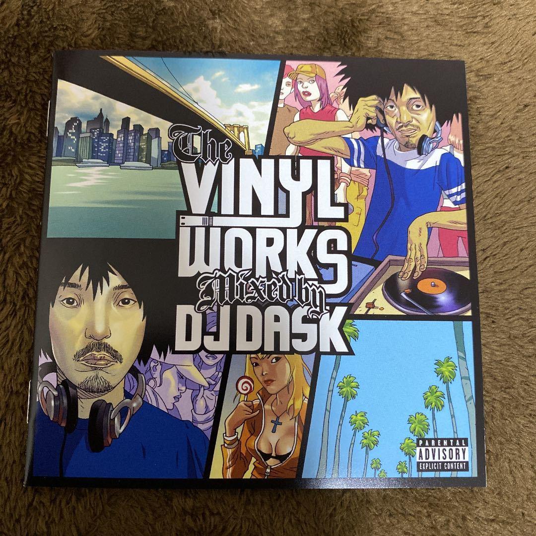 【DJ DASK】The Vinyl Works 2枚セット【MIX CD】【廃盤】【送料無料】