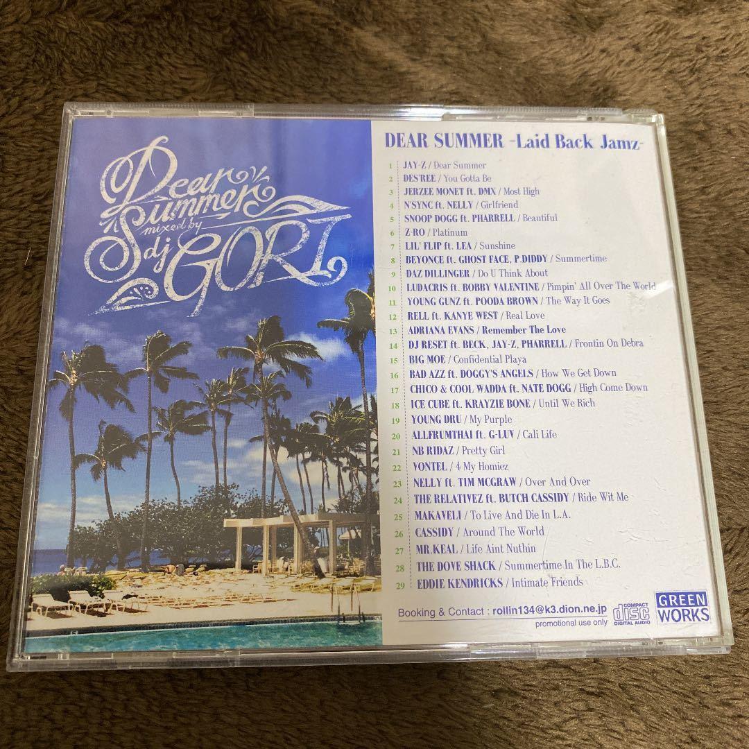 【DJ GORI】DEAR SUMMER 3枚コンプリートセット【MIX CD】【メロウ夏ミックス】【廃盤】【送料無料】