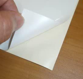 白色300×210mm(A4×4枚) SST お徳用4枚組 ホワイトボードシート白 A4タイプ  どこでも貼れる書ける消せるシー_画像3