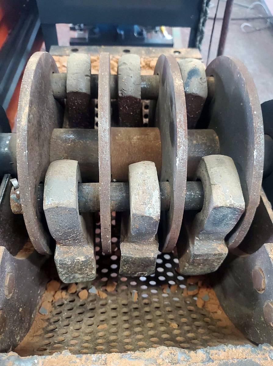 ハンマークラッシャー 破砕機 粉砕機 ディーゼルエンジン セル式 小割 がれき処理 産廃 解体_画像5