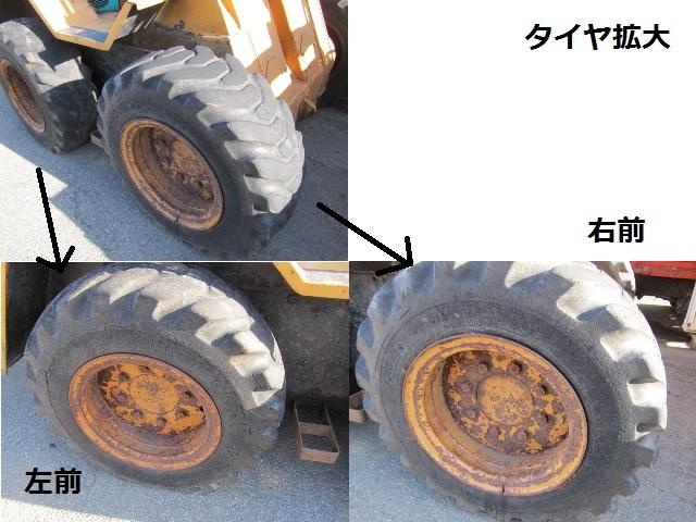 「コマツ SK07 トラクタショベル 実働品!ディーゼルエンジン 山形より」の画像3