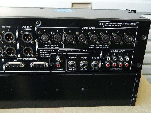 中古◆Panasonic パナソニック RAMSA オーディオミキサー WR-X22 (ジャンク扱い) ◆ _画像7