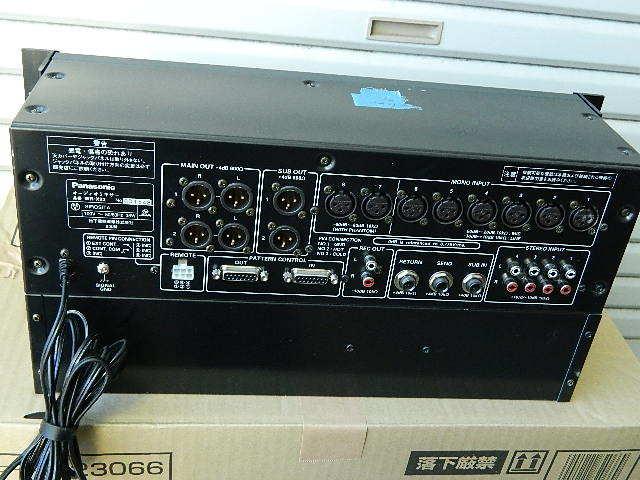 中古◆Panasonic パナソニック RAMSA オーディオミキサー WR-X22 (ジャンク扱い) ◆ _画像5