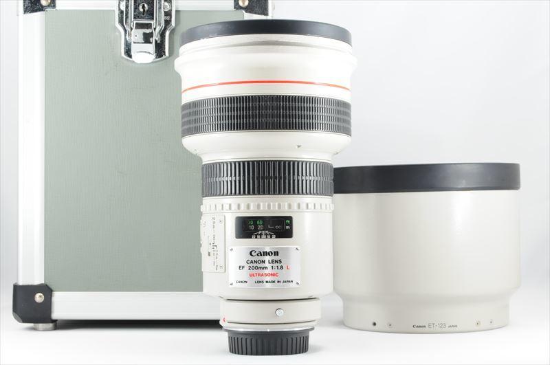 ★極上品★Canon EF 200mm F1.8 L USM 付属品有 #6931ES