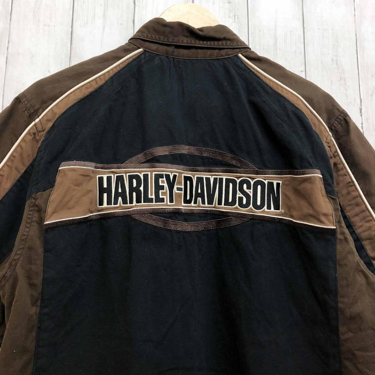 HARLEY DAVIDSON ハーレーダビッドソン 古着 半袖シャツ メンズ コットン100% Mサイズ 9-66_画像8