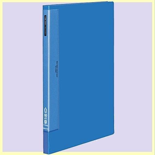 ☆★springセール★☆新品☆未使用★ ファイル コクヨ V-AG 青 ラ-T573B クリヤブック ウェ-ブカット 固定式 A3 縦 40枚_画像1
