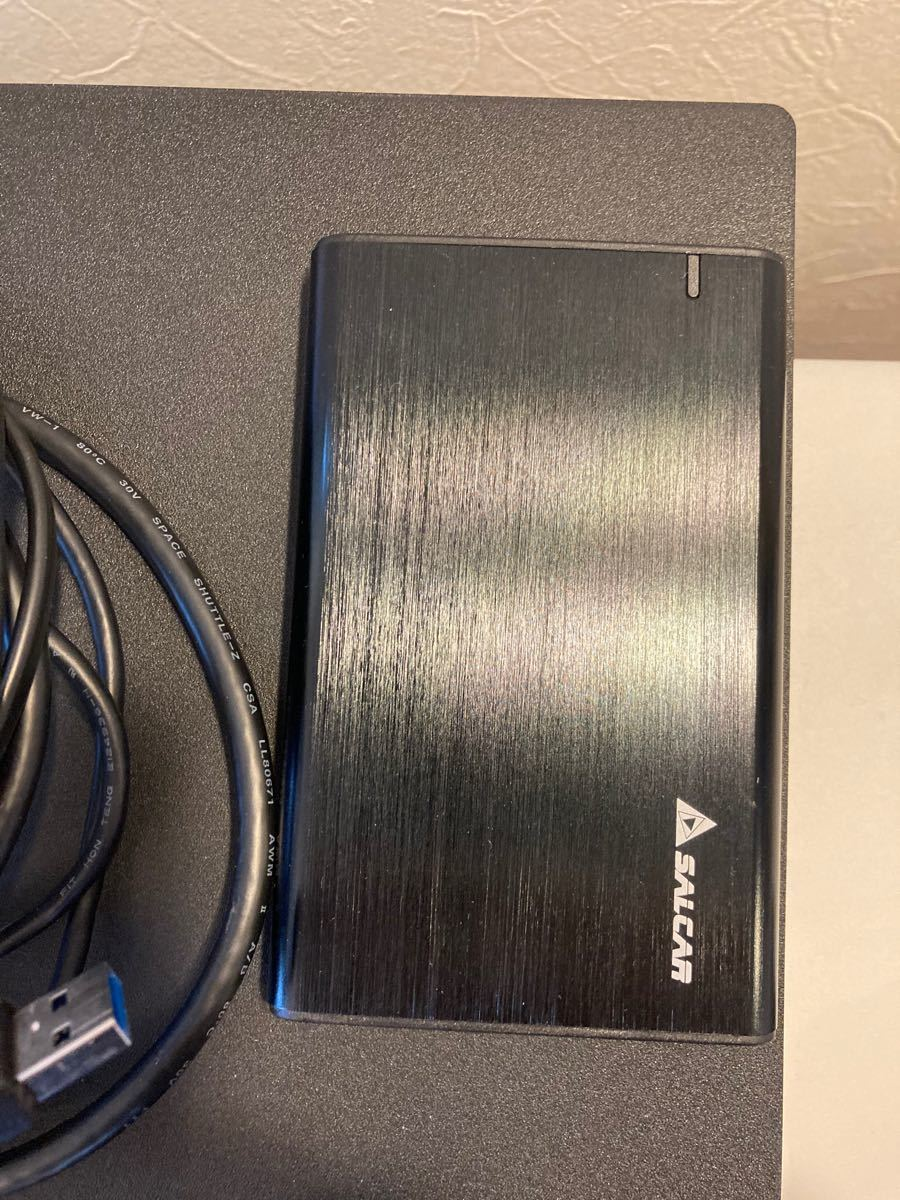 [外付SSD500GB] PS4 PRO 1TB