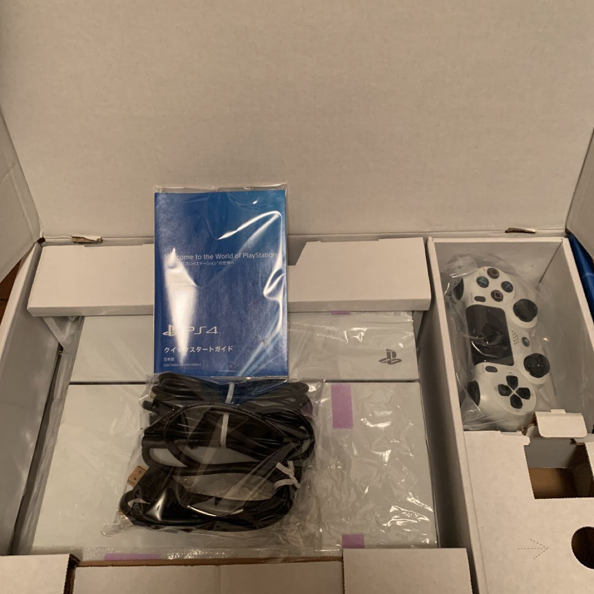 PS4本体 SONY プレステ4 プレイステーション4 グレイシャー ホワイト