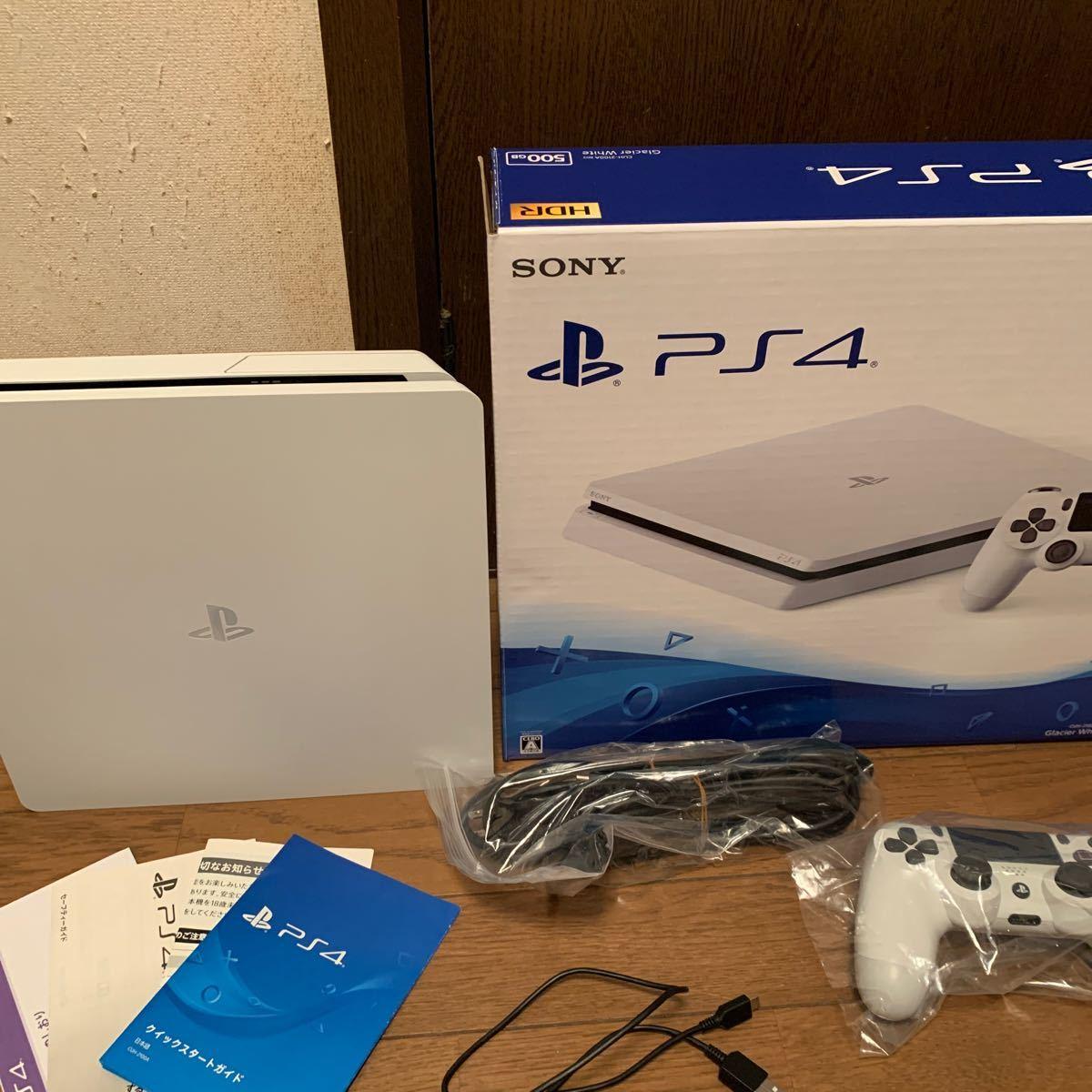 PlayStation4 グレイシャー・ホワイト 500GB CUH-2000AB02