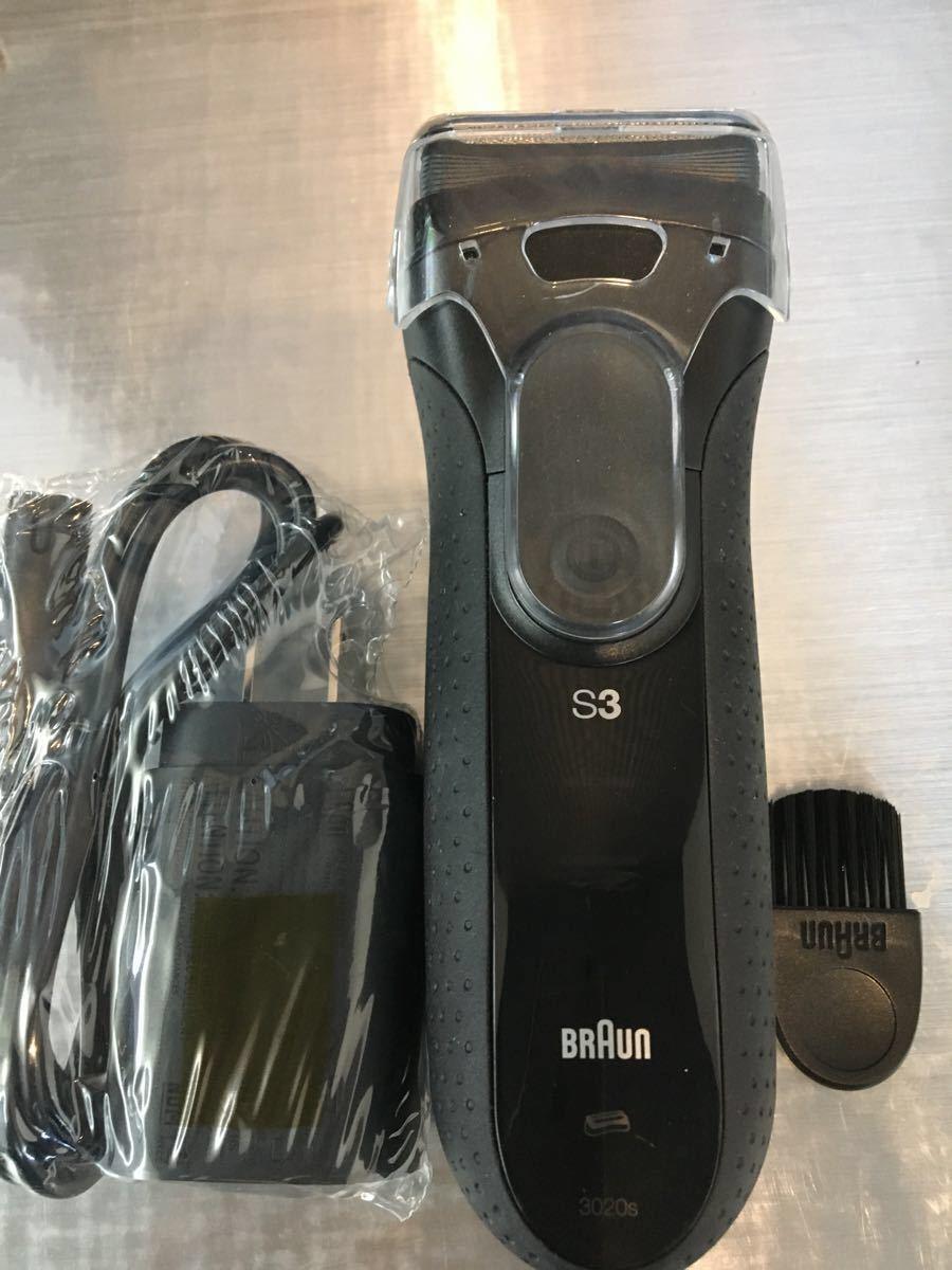 ブラウン  シリーズ3 3020s 3枚刃 メンズシェーバー 水洗い可能
