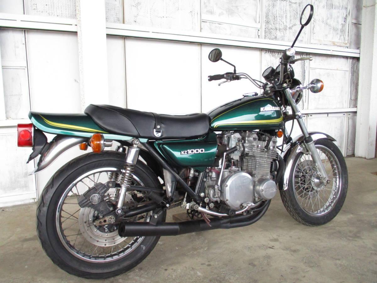 カワサキ KZ1000A Z1000A 実働 仕上げベース車 (検 Z1 Z2 Z900 KZ1000LTD_画像3