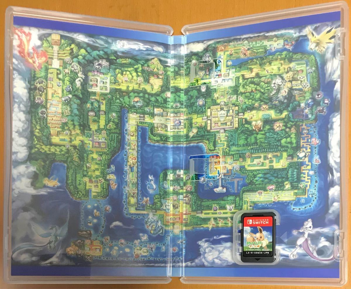 送料無料 ポケットモンスター Let's go イーブイ レッツゴー Nintendo Switch ポケモン スイッチ