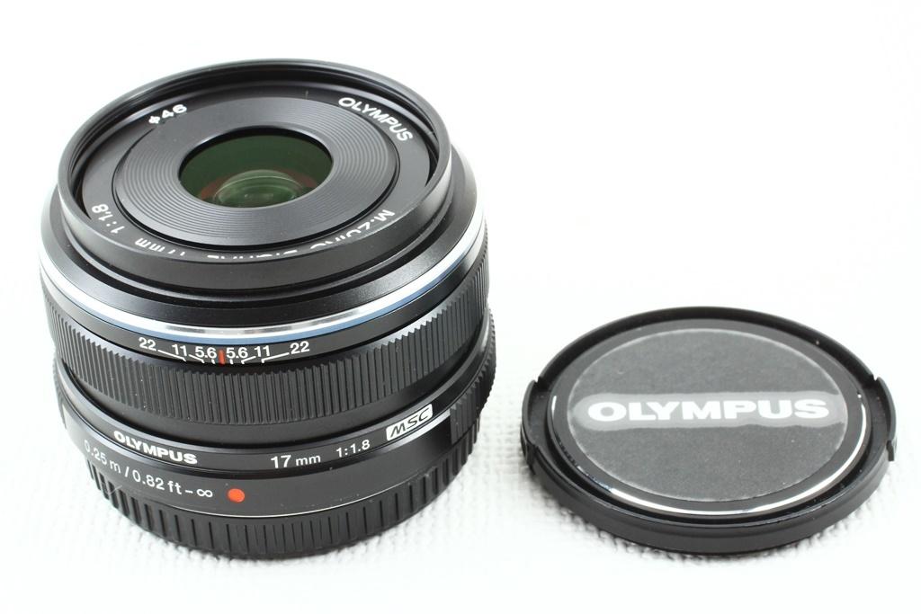 極上品◆OLYMPUS オリンパス M.ZUIKO DIGITAL 17mm F1.8 ブラック◆単焦点レンズ,マイクロフォーサーズ/a-8119_お早めにどうぞ!