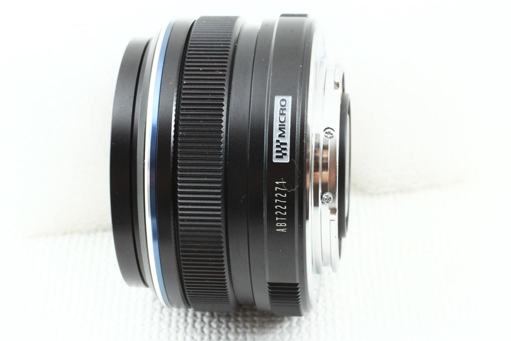 極上品◆OLYMPUS オリンパス M.ZUIKO DIGITAL 17mm F1.8 ブラック◆単焦点レンズ,マイクロフォーサーズ/a-8119_画像5