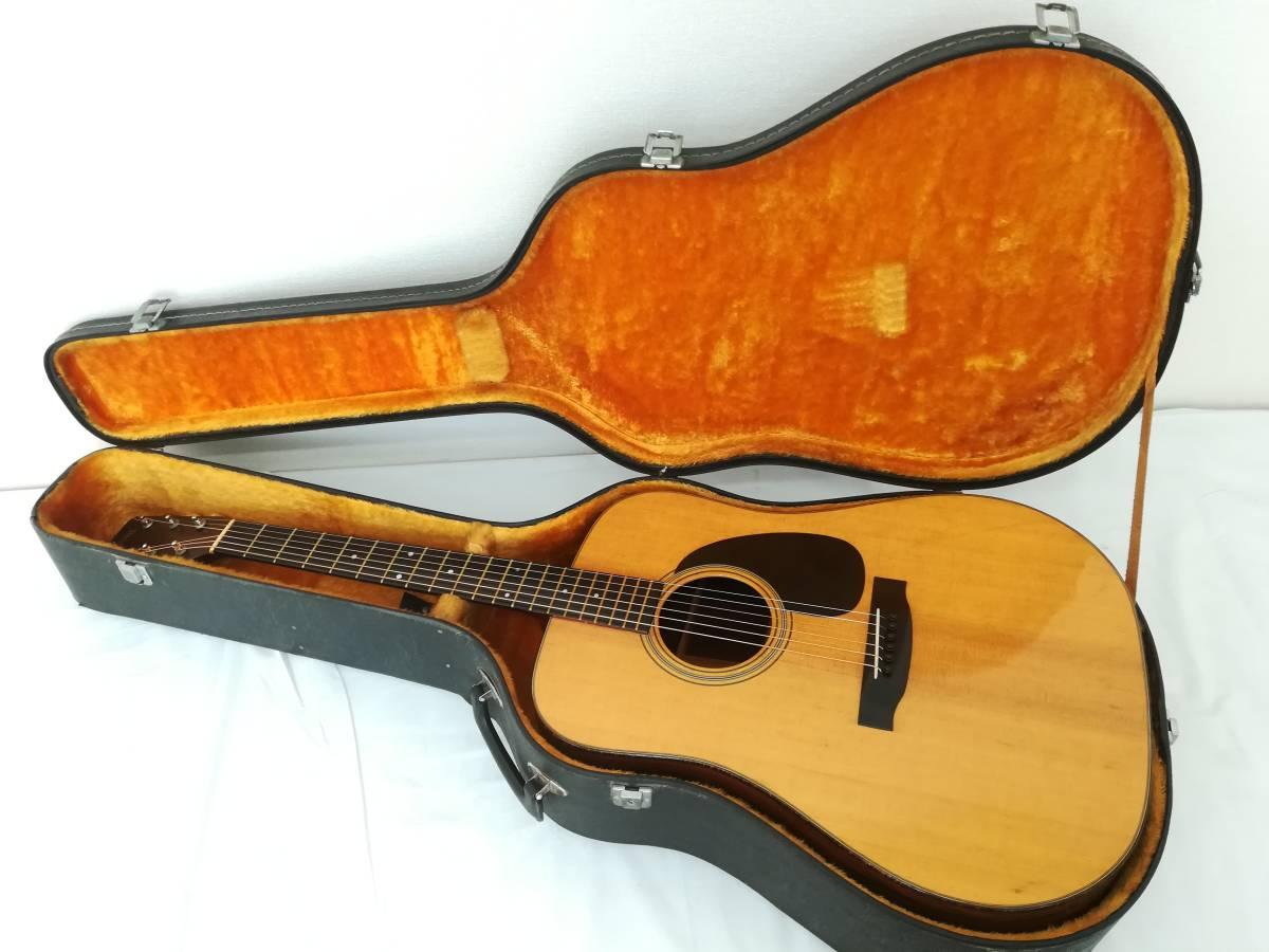【OM34】S.Yairi アコースティックギター ハードケース付き ヤイリ Sada Yairi フォークギター 楽器 中古現状品