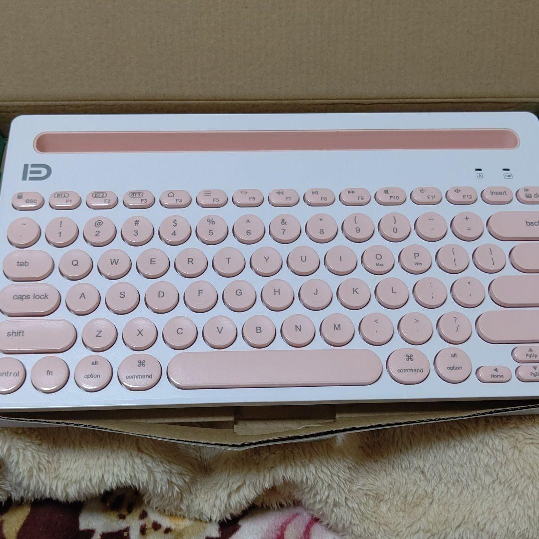 ワイヤレスキーボード Bluetooth
