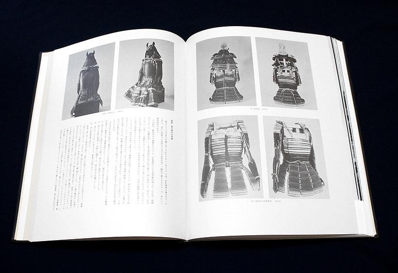 ◆刀剣書◆-甲冑-*本革額装/柾桐箱付* 限定700部の超希少本でまるで絵画額装の様な書籍です! _画像5