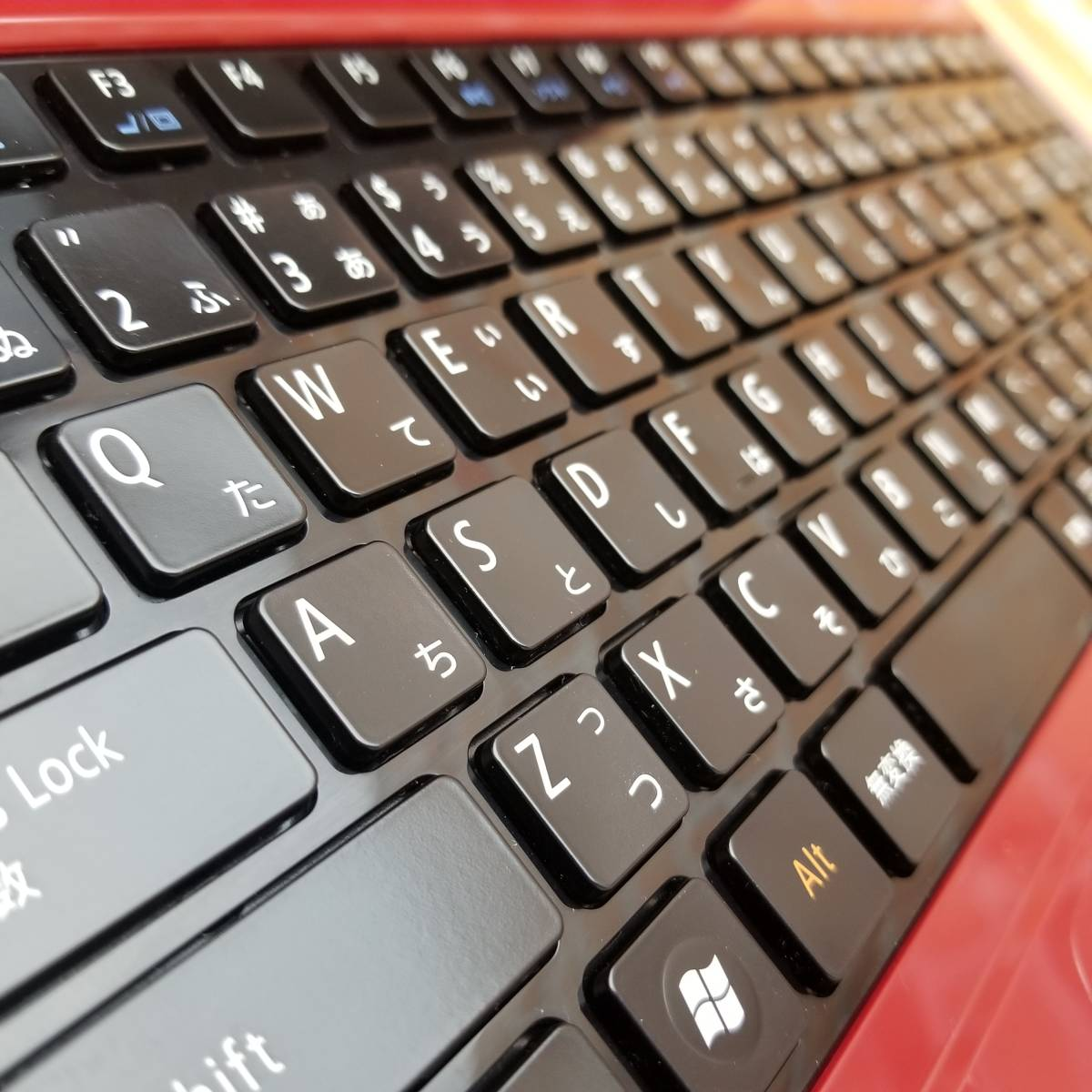 ★美品★国内正規新品SSD500GB/メモリ4GB/無線 Wi-Fi/Win10/最新Office/高性能Pentium P6200搭載/LaVie S LS150/ES6R(C7744)_★キーボードも綺麗に清掃済です★