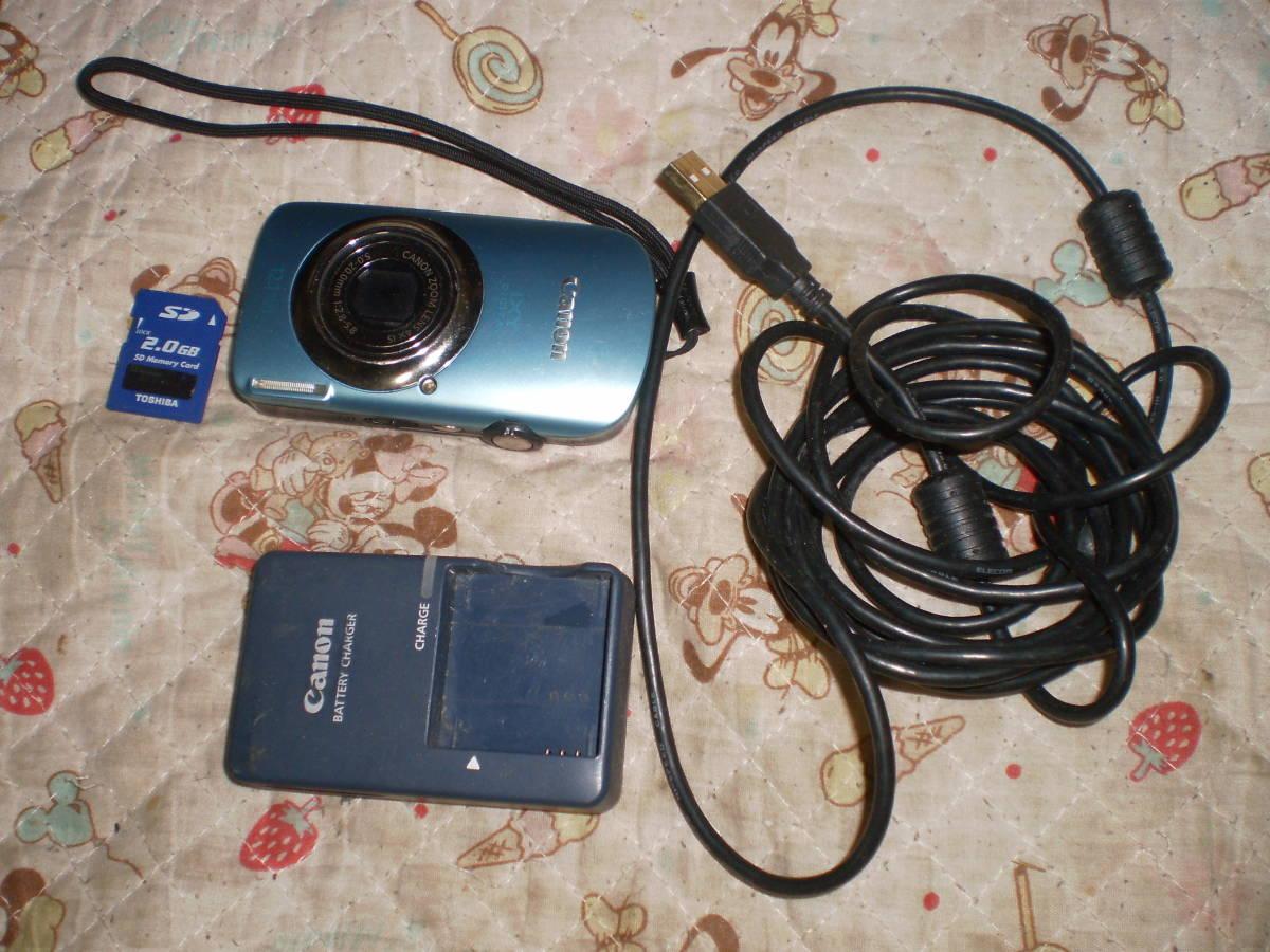 ●Canon IXY DIGITAL 510IS デジタルカメラ□キャノン●