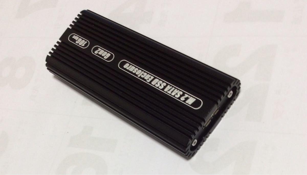 M.2 SSD (Sata) USB3.0~GEN2 アルミ外付ケース