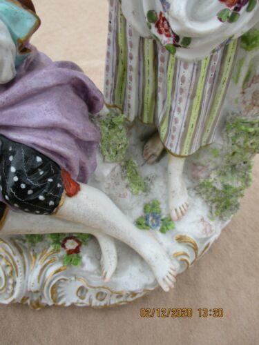 【値段交渉可】マイセン/Meissen 美しい女性 フィギュア 磁器 鮮やかな色合いが魅力的 置物 オーナメント ★77_32_画像6