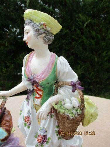 【値段交渉可】マイセン/Meissen 美しい女性 フィギュア 磁器 鮮やかな色合いが魅力的 置物 オーナメント ★77_32_画像9