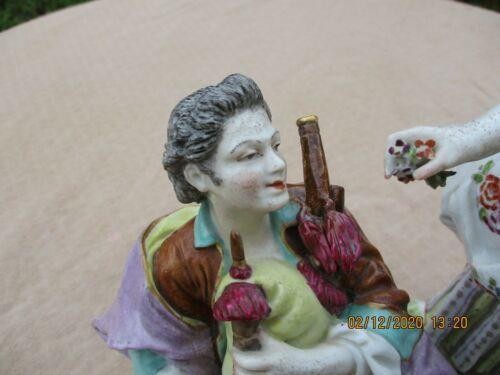 【値段交渉可】マイセン/Meissen 美しい女性 フィギュア 磁器 鮮やかな色合いが魅力的 置物 オーナメント ★77_32_画像7