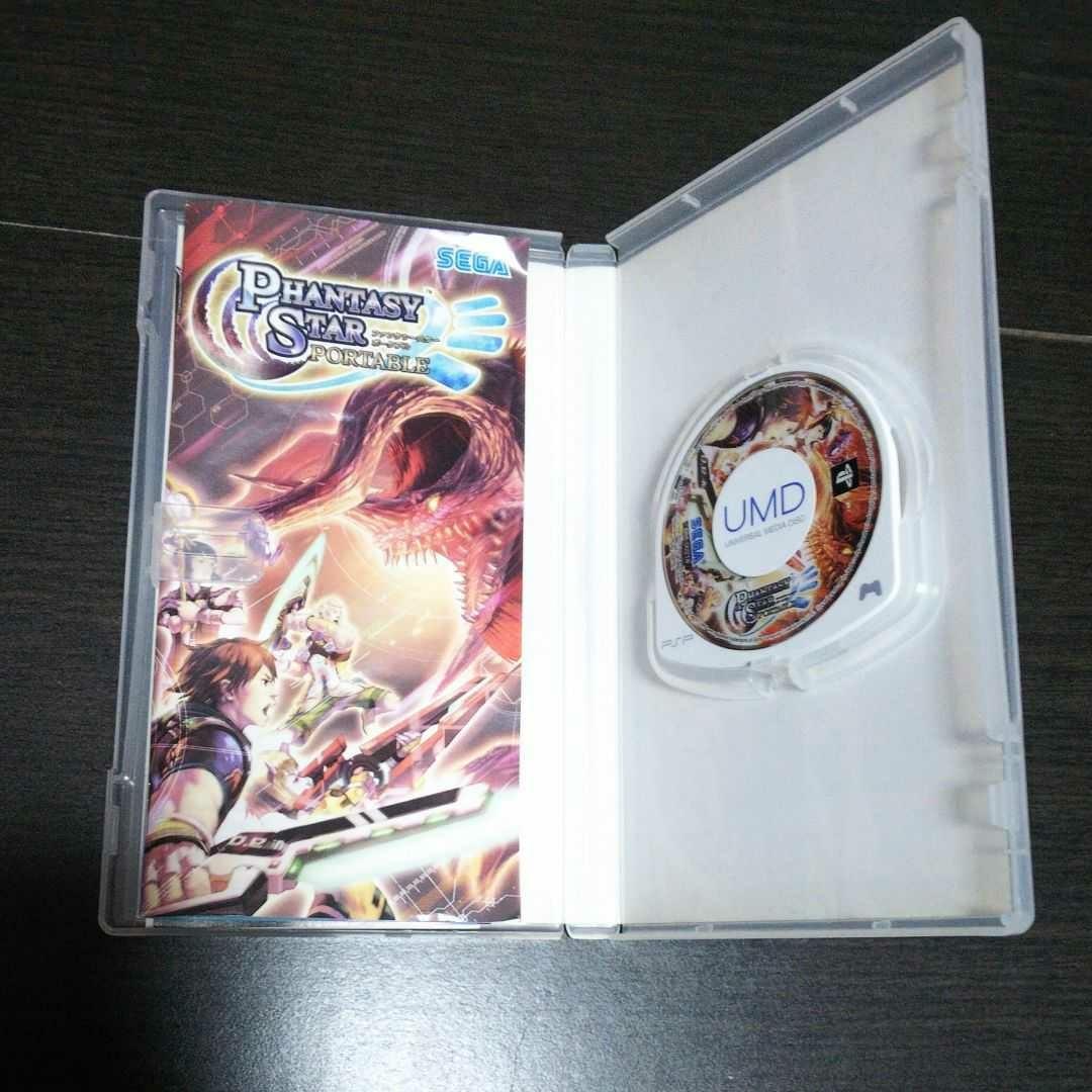 PSP ゲームソフト まとめ売り ファンタシースター      ポータブル 1&2